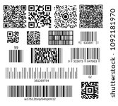universal product code barcode... | Shutterstock .eps vector #1092181970