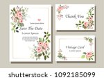 a set of vector maps with pink...   Shutterstock .eps vector #1092185099