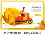 vector illustration   man... | Shutterstock .eps vector #1092186839