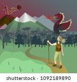 vector illustration  flat... | Shutterstock .eps vector #1092189890