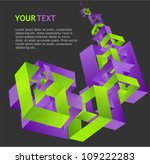 abstract geometric and text | Shutterstock .eps vector #109222283