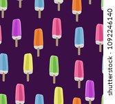 seamless pattern of... | Shutterstock .eps vector #1092246140