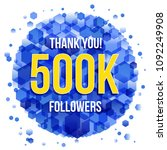 thank you design template for...   Shutterstock .eps vector #1092249908