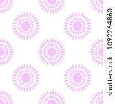 abstract geometric pattern.... | Shutterstock .eps vector #1092264860