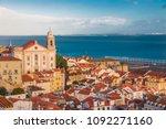 beautiful landscape of the... | Shutterstock . vector #1092271160