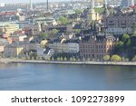 an amazing view of stockholm... | Shutterstock . vector #1092273899