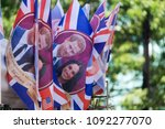 london  uk   may 15th 2018 ... | Shutterstock . vector #1092277070