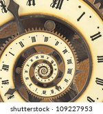 infinity time with vintage... | Shutterstock . vector #109227953