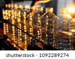 bottle. industrial production... | Shutterstock . vector #1092289274