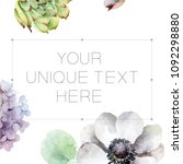 composition with space for text ... | Shutterstock . vector #1092298880