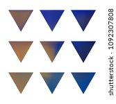 vector gradient reverse... | Shutterstock .eps vector #1092307808