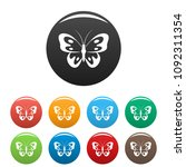 butterfly in wildlife icon.... | Shutterstock .eps vector #1092311354