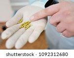 stones from a dog's bladder... | Shutterstock . vector #1092312680