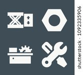 repair icon set   filled... | Shutterstock .eps vector #1092335906