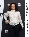 Small photo of New York, NY - May 16, 2018: Judy Reyes attends the 2018 Turner Upfront at One Penn Plaza
