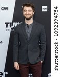 Small photo of New York, NY - May 16, 2018: Daniel Radcliffe attends the 2018 Turner Upfront at One Penn Plaza