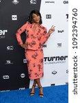 Small photo of New York, NY - May 16, 2018: Tiffany Haddish attends the 2018 Turner Upfront at One Penn Plaza