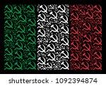 italy national flag flat... | Shutterstock .eps vector #1092394874