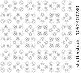 seamless abstract black texture ... | Shutterstock . vector #1092400280