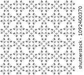 seamless abstract black texture ... | Shutterstock . vector #1092400370