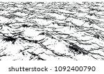 cracked texture vector | Shutterstock .eps vector #1092400790