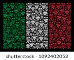 italy official flag flat... | Shutterstock .eps vector #1092402053
