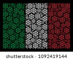 italy national flag flat mosaic ... | Shutterstock .eps vector #1092419144