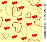 seamlessly vector wallpaper...   Shutterstock .eps vector #1092422240