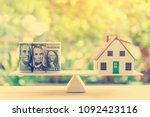 home loan   reverse mortgage or ... | Shutterstock . vector #1092423116
