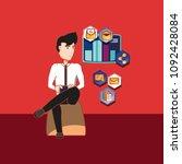 social media design | Shutterstock .eps vector #1092428084