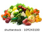 fresh  bright fruit and... | Shutterstock . vector #109243100
