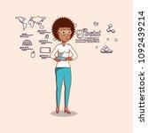 social media design | Shutterstock .eps vector #1092439214