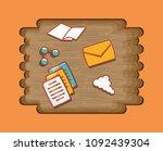 social media design | Shutterstock .eps vector #1092439304