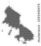abstract skyros greek island... | Shutterstock .eps vector #1092440474