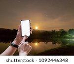 selective focus hand s female...   Shutterstock . vector #1092446348