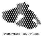 abstract greek lesbos island... | Shutterstock .eps vector #1092448808