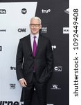 Small photo of New York, NY - May 16, 2018: Anderson Cooper attends the 2018 Turner Upfront at One Penn Plaza