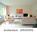 contemporary living room | Shutterstock . vector #109245593