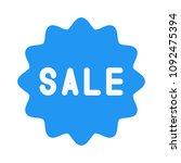 sale sticker sign | Shutterstock .eps vector #1092475394