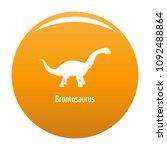 brontosaurus icon. simple... | Shutterstock .eps vector #1092488864