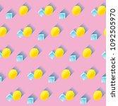 vector illustration. seamless... | Shutterstock .eps vector #1092505970