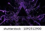 3d render abstract background.... | Shutterstock . vector #1092512900