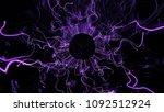 3d render abstract background.... | Shutterstock . vector #1092512924