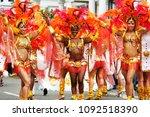 london   aug 31   performers... | Shutterstock . vector #1092518390