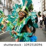 london   august 29  performers...   Shutterstock . vector #1092518396