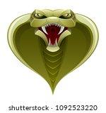 snake head on a white background | Shutterstock .eps vector #1092523220