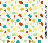 seamless background pattern of... | Shutterstock .eps vector #109256204
