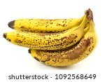 Ripe Yellow Bananas Fruits ...