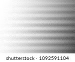 dotted halftone background. pop ... | Shutterstock .eps vector #1092591104