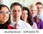business people or team in... | Shutterstock . vector #109260170